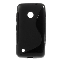 FlexiSkal till Nokia Lumia 530 (Svart)