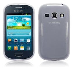 FlexiSkal till Samsung Galaxy Fame S6810 - Frosty White