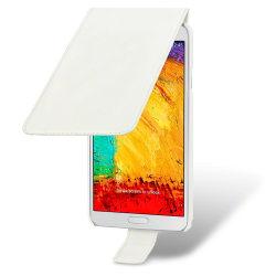 Flip Mobilväska/Fodral till Samsung Galaxy Note 3 N9000 - Vit