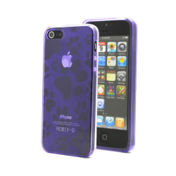 Footmark FlexiCase Skal till Apple iPhone 5/5S/SE - Lila
