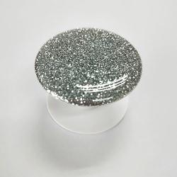 Glitter POP Mobilhållare - Silver