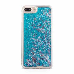 Glitter Skal till Apple iPhone 6S/6 Plus - Blå