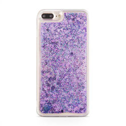 Glitter skal till Apple iPhone 7 Plus - Viola