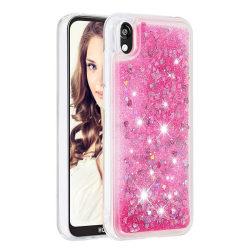 Glitter Skal till iPhone Xs Max - Rosa