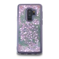 Glitter Skal till Samsung Galaxy S9 Plus  -  Rosa