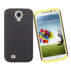 Hybrid Silikon Combo Skal till Samsung Galaxy S4 i9500 (Gul)