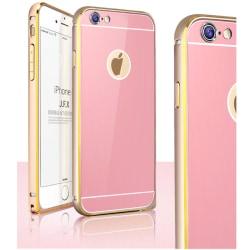 JFX Metallbumper-skal till Apple iPhone 6(S) Plus (Rose gold - G