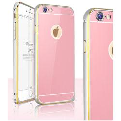 JFX Metallbumper-skal till Apple iPhone 6(S) Plus (Rose Gold - S
