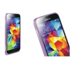 LOVE MEI 0,7mm Metal Bumper till Samsung Galaxy S5 (Lila)