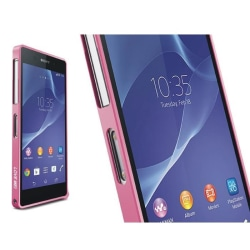 LOVE MEI 0,7mm Thin Aluminum Metal Bumper till Sony Xperia Z2 (R