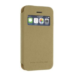 Mercury Bumper View Fodral till Apple iPhone 4S   /   4 (Guld)