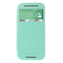 Mercury Bumper View Plånboksfodral till HTC One M8 (2014) - Turk