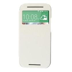 Mercury Bumper View Plånboksfodral till HTC One M8 (2014) - Vit