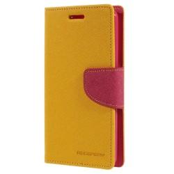 Mercury Fancy Diary Plånboksfodral till LG G3 S - Gul