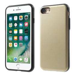 Mercury Sky Slide Skal till Apple iPhone 8  /  7 - Gold