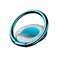 Metal Glitter Ringhållare till Mobiltelefon - Blå