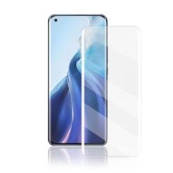 MOCOLO - 3D Curved UV Härdat Glass Til Xiaomi Mi 11 - Clear