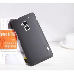Nillkin Frosted Shield Skal till HTC One Max (Svart)
