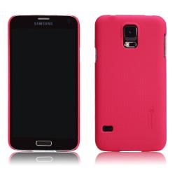Nillkin Frosted Shield Skal till Samsung Galaxy S5 (Röd) + Skärm