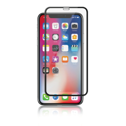 Panzer iPhone XS Max Full-Fit Silicate Glass - Black