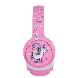 PEPPA PIG Hörlur Junior Bluetooth On-Ear 85dB Trådlös