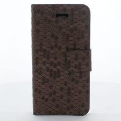 Pixel mobilfodral till Apple iPhone 4S / 4 (Brun)