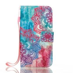Plånboksfodral Samsung Galaxy A3 (2017) - Henna Flowers