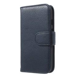 Plånboksfodral till Motorola Moto E (2nd Gen)  - Mörkblå