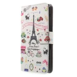 Plånboksfodral till Sony Xperia E4 - EiffelTornet