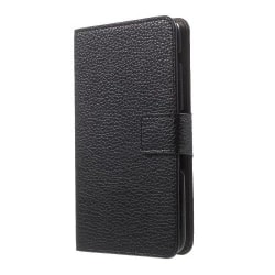 Plånboksfodral till Sony Xperia E4 - Svart