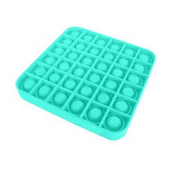 Pop it Fidget Sensory Leksak - Fyrkant - Grön