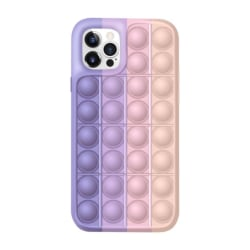 Pop it fidget skal till iPhone 12/12 Pro - MultiColor