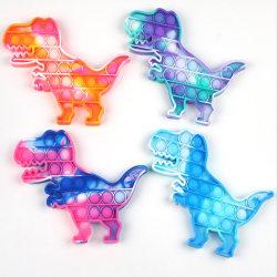 Pop it Fidget Toy - Flera Färger & Modeller - Dinosaur - Blandad