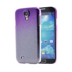 Raindrop Baksideskal till Samsung Galaxy S4 i9500 - Lila