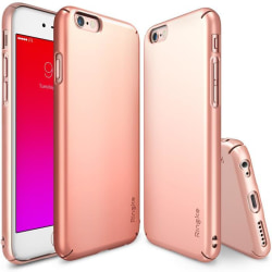 Ringke Slim Dual Coated Skal till Apple iPhone 6 / 6S - Rose Gol