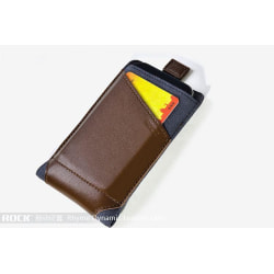 Rock Dynamic Pouch till iPhone 4/4s/3Gs  (Coffee)
