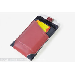 Rock Dynamic Pouch till iPhone 4/4s/3Gs  (Rose Red)