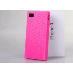 ROCON FlexiCase Skal till iPhone 4 (ROSA)