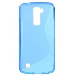 S-Curve Mobilskal till LG K10 - Blå