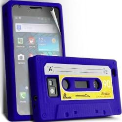 Silikon Skal till Samsung Galaxy i9100 S2 (Kassettfodral) - Blå