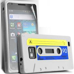Silikon Skal till Samsung Galaxy I9100 S2 Kassettfodral Vit