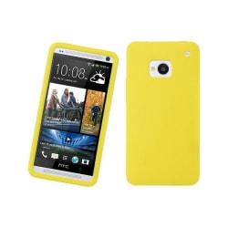Silikonskal till HTC One (M7) (Gul)