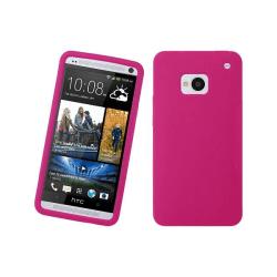Silikonskal till HTC One (M7) (Magenta)