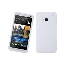 Silikonskal till HTC One (M7) (Vit)