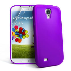 Silikonskal till Samsung Galaxy S4 i9500 (Lila)