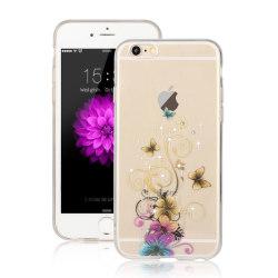 Skal till Apple iPhone 6   /   6S - Bruna Fjärilar