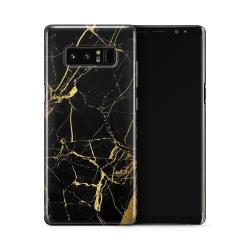 Skal till Samsung Galaxy Note 8 - Marble - Svart