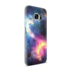 Skal till Samsung Galaxy S7 - Rymden - Svart/Blå