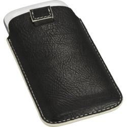 Slide mobilväska med Dragflärp (Svart)