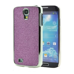Sparkle Baksideskal till Samsung Galaxy S4 i9500 - (Lila)